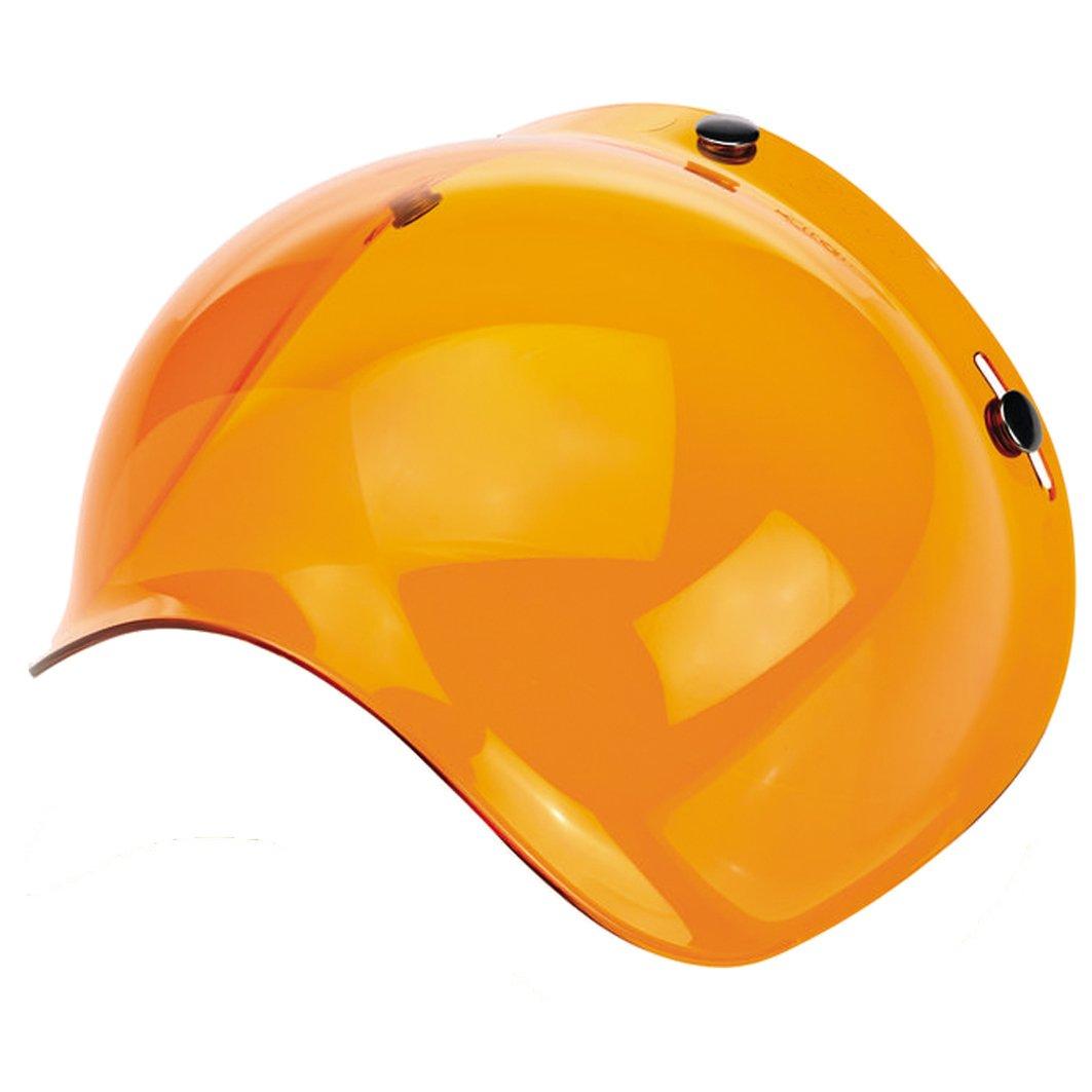 universal passend mit 3/Befestigungspunkten Motorradhelm-Bubble-Visier Biltwell Bell DMD Bandit Yam AFX Nolan AGV MULTI TAGLIA Fume 50/%