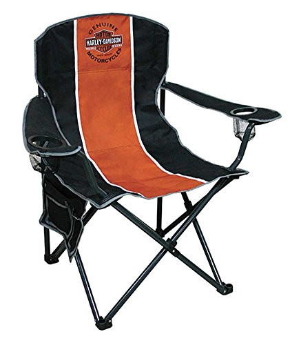 Harley-Davidson Bar Shield Compact Chair, X-Large Size w Carry Bag CH31264