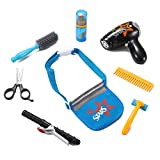 Star Stylist Beauty Salon Fashion Play Set with Hairdryer, Curling Iron, Tool Belt & Styling Accessories by Liberty Imports
