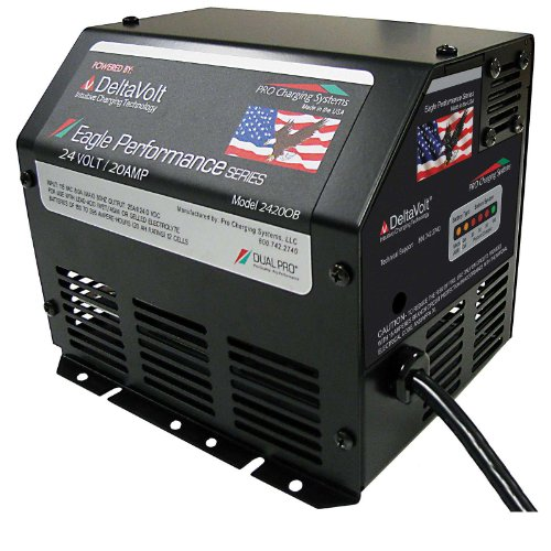 Dual Pro Eagle Scissor Lift Battery Charger for SkyJack JLG 24V