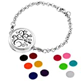 HOUSWEETY Aromatherapy Essential Oil Diffuser Bracelet Locket Jewelry - Best Reviews Guide