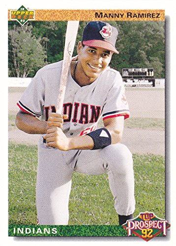 - 1992 UPPER DECK MANNY RAMIREZ RC ROOKIE CARD