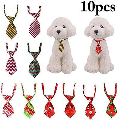 Legendog 10PCS Navidad Mascota Corbata Ajustable Clasificado ...