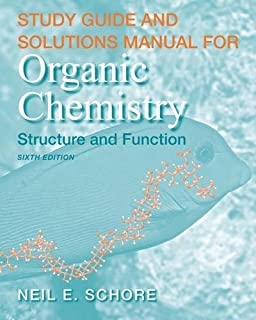 Organic chemistry structure and function 6th edition book only study guidesolutions manual for organic chemistry fandeluxe Gallery