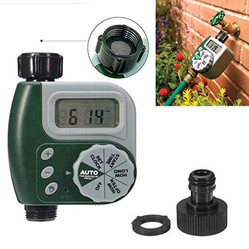 LtrottedJ Outdoor Garden Hose Sprinkler Irrigation Controller Solenoid Valve Timer - Dial Sprinkler