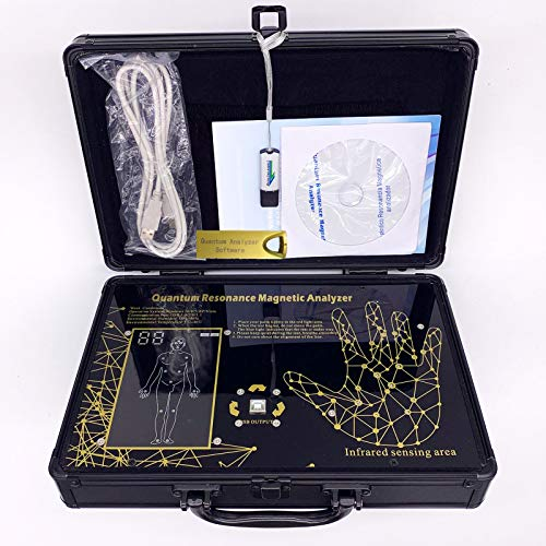 Quantum Magnetic Resonance Body Analyzer Newest 6TH 47 Report English & Spanish Software