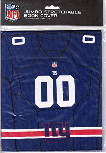 New York-NFL Jumbo Stretchable Book Cover