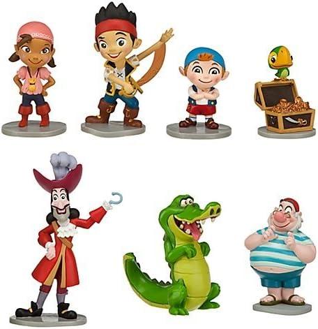 Disney - Set de 7 figuras de Jake y los Piratas de Nunca Jamás ...