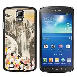 Stuss Case / Funda Carcasa protectora - Resumen Polígono Glaciar - Samsung Galaxy S4 Active i9295