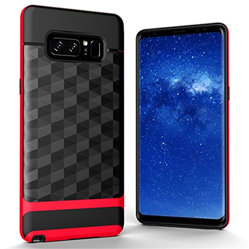 Anti-knock Shockproof Armor Case for Samsung Galaxy Note 5 Red - 5