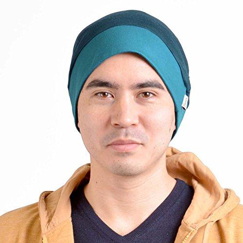 Japonés Holgado Sombrero Azul Forma Doble Hombre Capa Tejido Gorrita Flojo Casaulbox Moda Diseño AR6qxS
