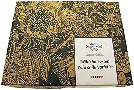 Magic Garden Seeds Kit de Semillas Regalo: 'Chiles Silvestres'