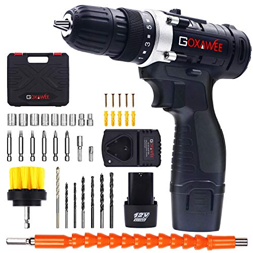 Cordless Drill with 2