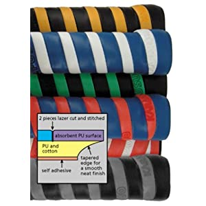 Karakal PU DUO Super Grip, pack of 2 (Assorted Colors)