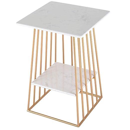 mesas de Centro Sofá Blanco Moderno Mesa Auxiliar Mesa de Esquina ...