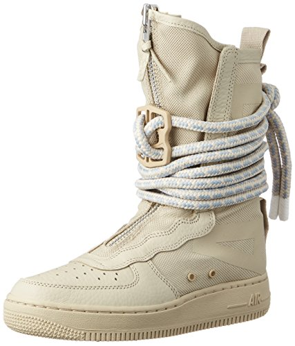 Nike Gymnastique Femme Hi Rattanrattanwhite de SF Af1 Chaussures Beige rqwBXraxg