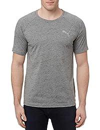 Men's Evostripe Tee Shirt Crew Neck