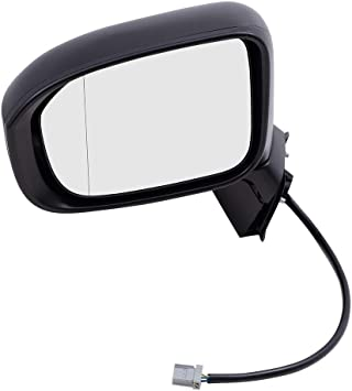 Drivers Power Side View Mirror Replacement for Honda Civic 76258-TR4-C01