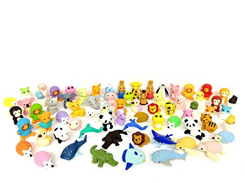 Iwako Erasers Animal Overstock Pack product image