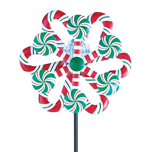 Candy Cane Christmas Solar Light Decorations