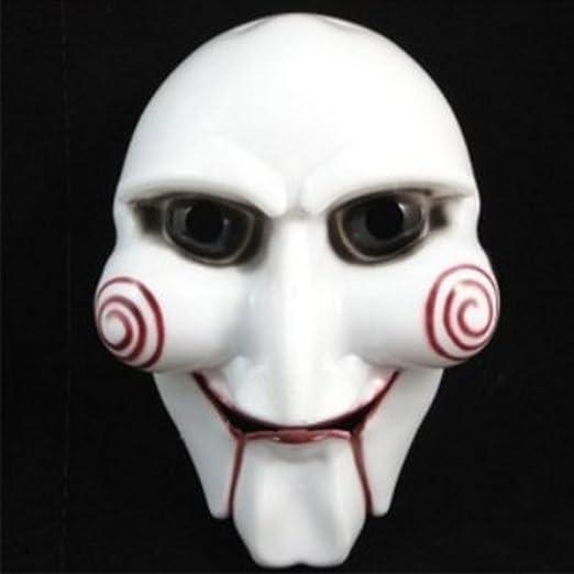 stephaee novedad Halloween Cosplay máscaras de plástico Saw Jigsaw ...