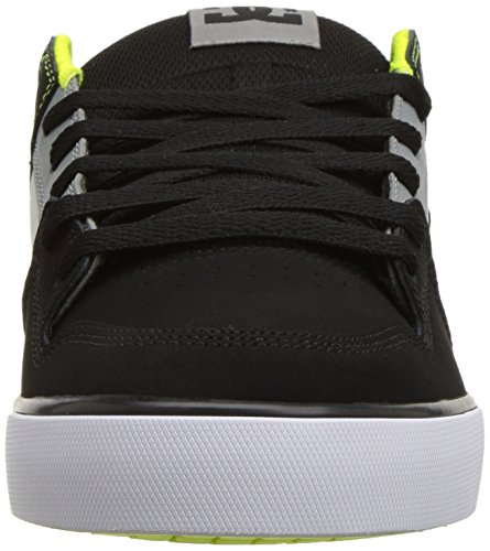 Dc Mens Pure Shoes, Nero / Battleship / Turchese,