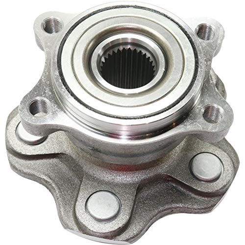 Wheel Hub and Bearing compatible with 2003-2009 Nissan 350Z Rear Left or Right RWD With Wheel Studs