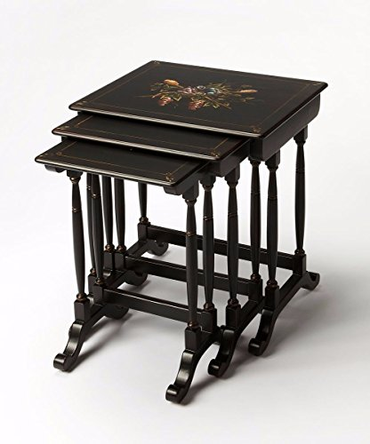Nesting Traditional Table (Ambiant Traditional NESTING TABLES Black)