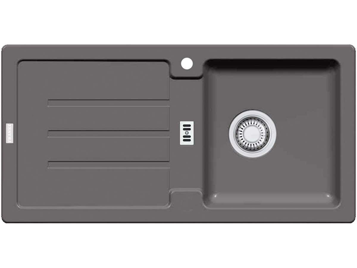 Franke Strata STG 614 Steingrau Granitspüle Küchenspüle Einbauspüle Fagranit