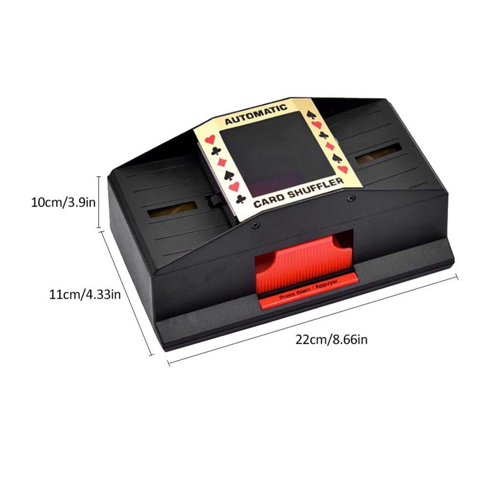 AITOCO Shuffler automático de Naipes Shuffler eléctrico de ...