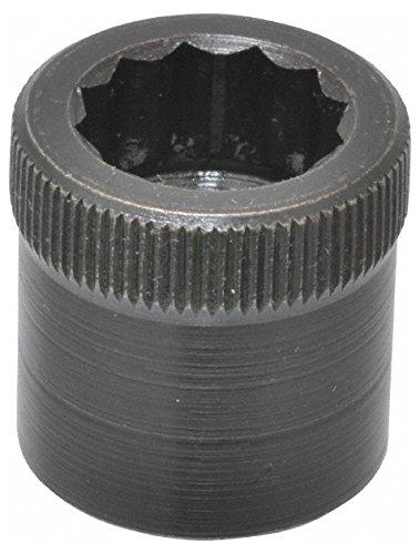 1/2-20'' Thread Uncoated Steel Allen Nut 1/2'' Diam, 1/2'' Hex Key