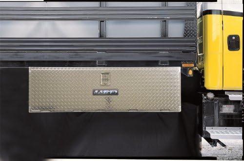 Silver Lund 8224T 24-Inch Aluminum Underbody Truck Tool Box Diamond Plated