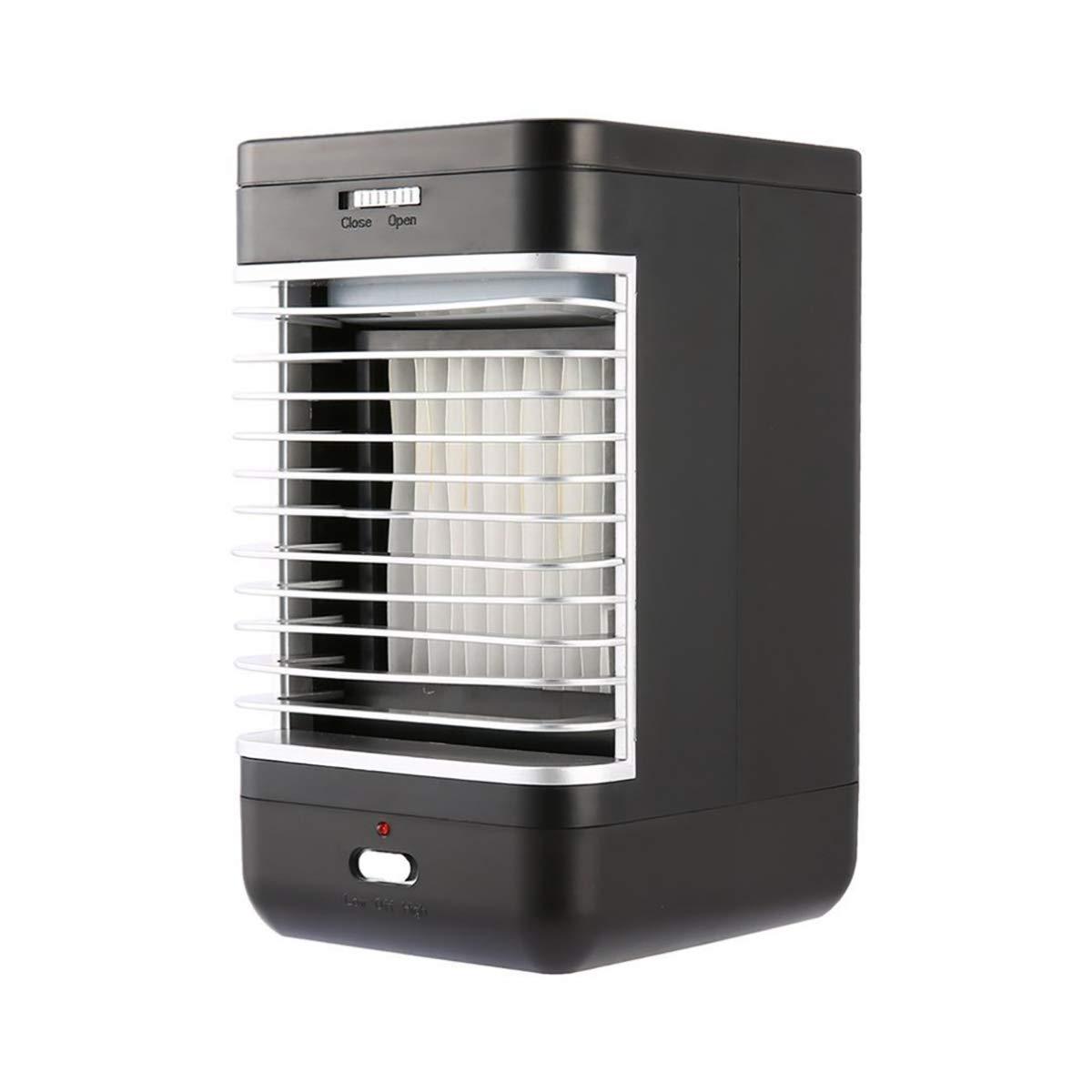LIUHUA Personal Air Conditioner Cooler Evaporative Air Conditioner Fan Indoor Portable Coolm, Humidifier