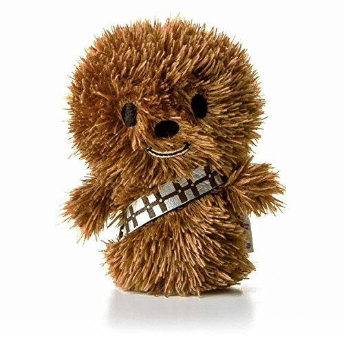 Hallmark itty bittys Chewbacca Stuffed Animal Itty Bittys Back to School Sci-Fi]()