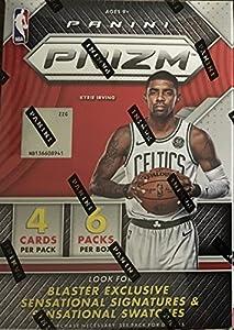 2017 2018 PRIZM NBA Basketball Series Unopened Blaster Box Made By Panini with 1 Autograph or Memorabilia Card Plus 3 Prizms Per Box on Average