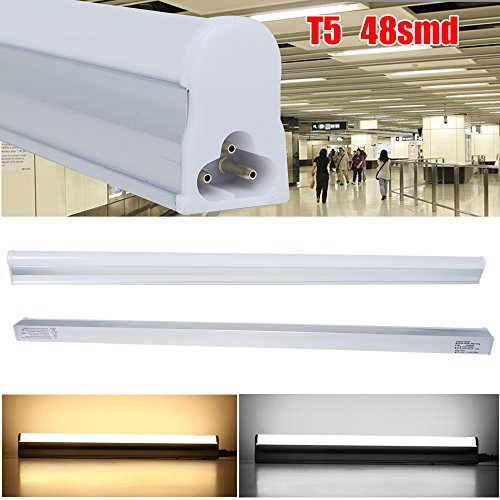 Excellent 10x 5W T5 LED Light Tubes Day White 600mm/2 Ft