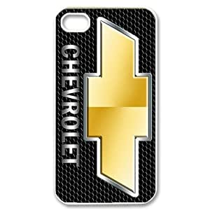 Racing Chevrolet Chevy Logo Hard Plastic Apple iPhone 4 4s Case Back Cover,Hot iPhone 4 4s Case at Surprise you Store