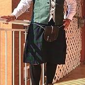 Morral para falda escocesa con detalles célticos en relieve ...