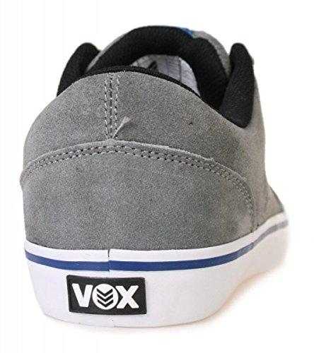 Vox Skateboard Shoes Downlow Gray/Blue/Black wXmMx