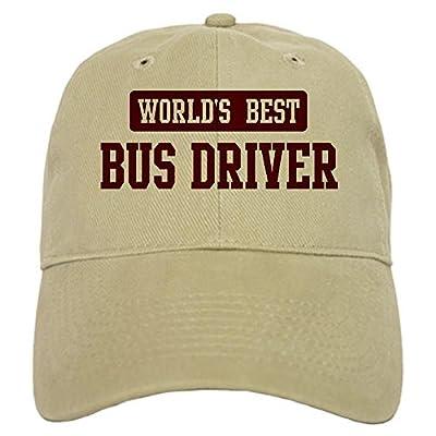 CafePressCap - Worlds best Bus Driver Cap