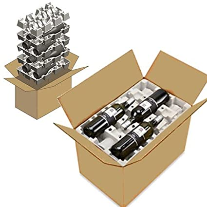 150e16149f4 Amazon.com   12 Pack Wine Shippers - Set Includes Boxes   Inserts to Safely  Ship 24 bottles in 2 Boxes   Office Products