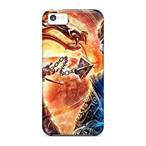 New Style Charming YaYa Mortal Kombat Premium Tpu Cover Case For Iphone 5c