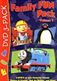 Family Fun Pack (Volume 1) [Teamwork! / Pingu Antartic Antics! / Its Great To Be An Engine!] (Boxset)