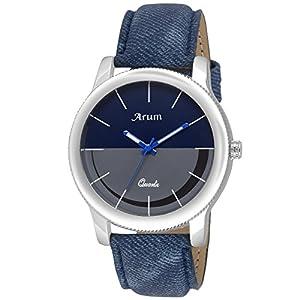 Arum Analog Watch Men Accessories Combo | Men's Brown Wallet with Analog Watch,Sunglass & Belt:-Combo Pack