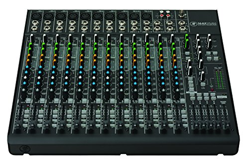 mackie 4 channel mixer - 6