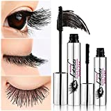 Ddk 4d Silk Fiber Lash Mascara Waterproof Black Cream Makeup Lash Eyelash Extension Crazy Long Style Warm Water Washable Mascara