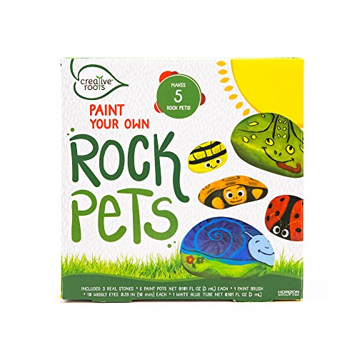 Creative Roots Pet Rocks by Horizon Group USA (Garden Craft Kit)