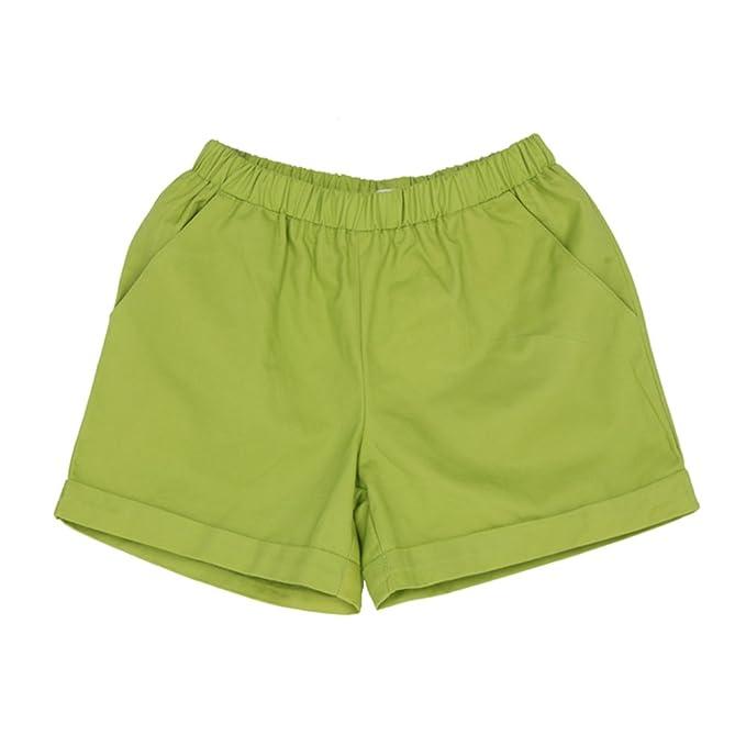Tinksky Damen Shorts   Baumwoll Shorts Damen Süßigkeit-Farben-Sommer-kurze  Hosen- 6b3564a672