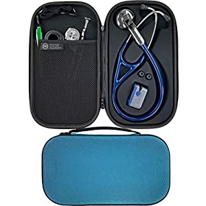 Pod Technical Cardiopod II Stethoscope Case for all Littmann Stethoscopes – Caribbean Blue