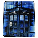 "Doctor Who Prism Tardis Velveteen Throw Blanket 50"" x 60"""